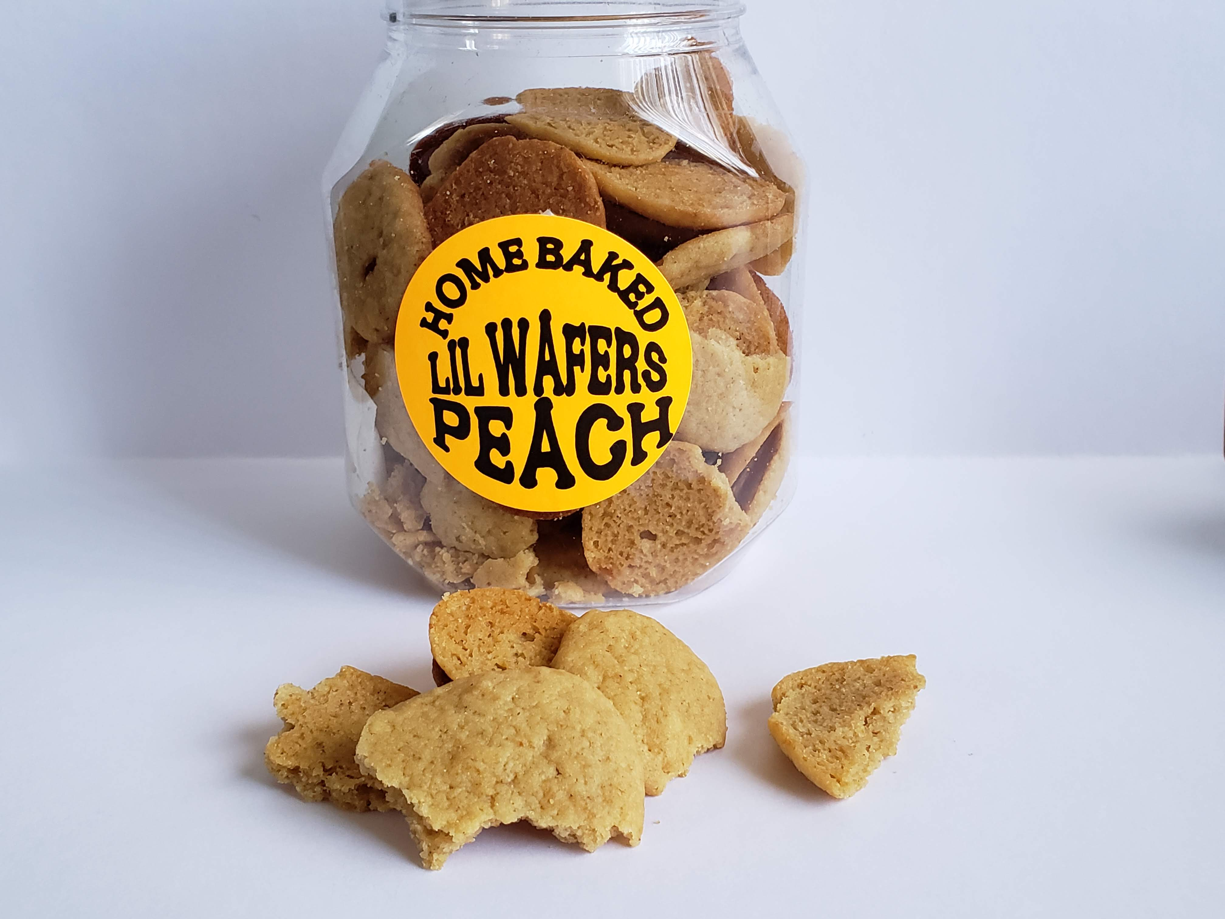 Li'l Wafers Peach
